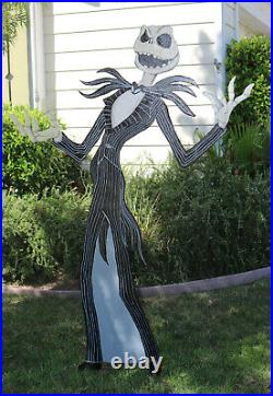 Jack Skellington Halloween Lawn Art Yard Decor Huge Nightmare Before Christmas