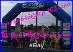 Larger Inflatable Arches/tent with UL blower, on big sports event advertising