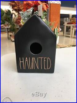 Limited Edition Rae Dunn Haunted Bird House
