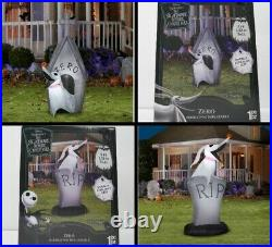 Lot Nightmare Before Christmas Airblown Inflatable HALLOWEEN PARTY YARD DECOR