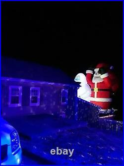 New Christmas Huge Commercial Inflatable 35' Foot Santa Claus Free Shipping