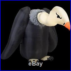 New Halloween Inflatable Air Blown Animated Vulture 7.5' tall yard decor Moving