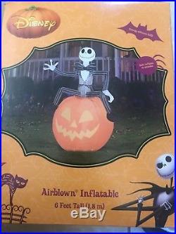 New Jack Skellington Halloween Airblown Inflatable Nightmare Before Christmas