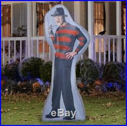 New Photorealistic Inflatable Freddy Kruger & Jason Voorhees Halloween Friday 13