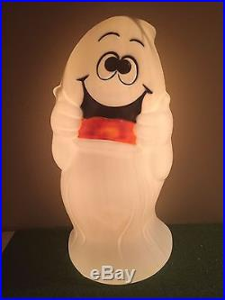 New Rare Vintage 32 Halloween Treat Character Ghost Lighted Blow Mold Decor