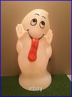 New Rare Vintage 32 Halloween Trick Character Ghost Lighted Blow Mold Decor