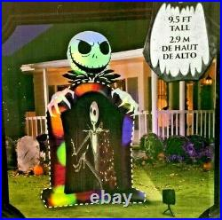 Nightmare Before Christmas 9.5' Jack Skellington Living Projection Inflatable
