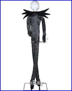 Nightmare Before Christmas Jack Skellington 6Ft Talking Animatronic 01339415 New