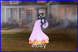 Nightmare Before Christmas Jack Skellington 9FT Halloween LED Inflatable