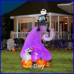 Nightmare Before Christmas Skellington MOUNTAIN ANIMATED Halloween Inflatable