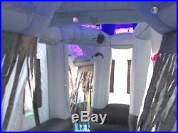 Original Gemmy 12.5' Halloween Airblown Inflatable Haunted House Outdoor Decor