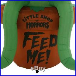 Over 7 Foot Animated Inflatable Audrey Little Shop Of Horrors New In Box