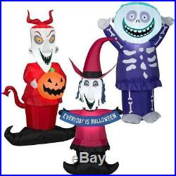 PRE-ORDER LOCK SHOCK & BARREL SET OF 3 Halloween AIRBLOWN INFLATABLE-NIGHTMARE