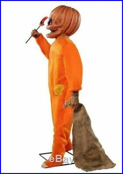 Pre Order Halloween Animatronic Sam Trick'r Treat Prop Haunted House Decoration