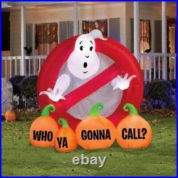 Pre Order Sale! GHOSTBUSTER WHO you GONNA Call HALLOWEEN INFLATABLE AIRBLOWN