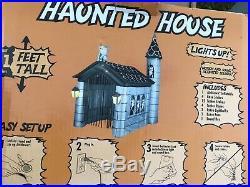 RARE! 11' Tower Haunted House Halloween Airblown Inflatable Yard Decor Gargoyle