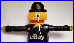 RARE 34 Union Products SCARECROW Blow Mold Light HALLOWEEN Decoration 1987 HTF
