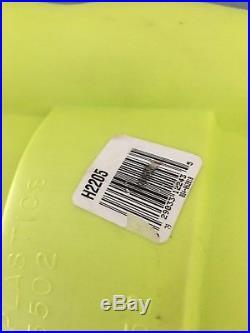 RARE 36 Green Space ALIEN Plastic LIGHT UP Blow Mold Figure Halloween VGC