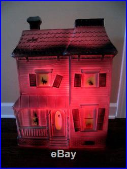 RARE Don Featherstone Haunted House Lighted Blow Mold