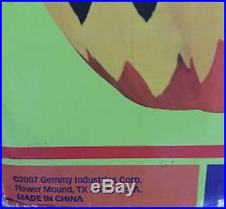 RARE GEMMY Airblown Inflatable Lighted & Animation 6' Monster Witch 2007
