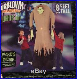 RARE Gemmy 2005 Airblown Inflatable Ogre Motion & Sound 8' NIB