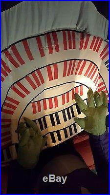 RARE Gemmy Airblown Inflatable Halloween Organ With Sound