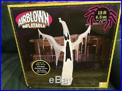 Rare 2014 Gemmy Inflatable 15foot Halloween Ghost $149.99