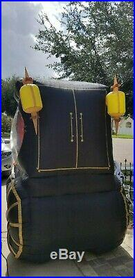 Rare Gemmy Inflatable Halloween Hearse 12' Long Grandin Road