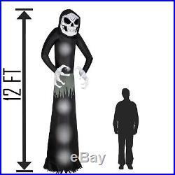 Reaper 12' Inflatable Halloween Huge Giant Outdoor Decoration Airblown