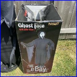 Spirit Halloween Animated 6ft Life-Size Ghostface (Scream 4) Gemmy 2011-14