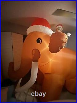 Super Rare Prototype 1 Of 2 Gemmy Ice Age Inflatable Christmas Inflatable RARE