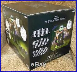 The Nightmare Before Christmas Jack Skellington Living Projection Inflatable NIB