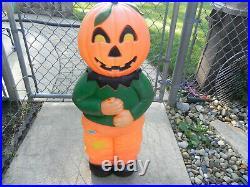 Vintage Don Featherstone Goblin Scarecrow Blow Mold 31