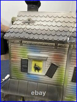 Vintage Don Featherstone Halloween Haunted House Blow Mold
