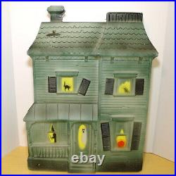 Vintage Don Featherstone Halloween Haunted House Light Up Blow Mold 1995