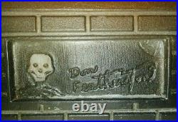 Vintage Don Featherstone Original Halloween Haunted House Plastic Blow Mold