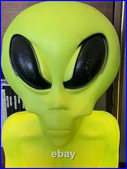 Vintage Empire Alien Figure Blow Mold Yard Display 36 No Splits Holes Or Cracks