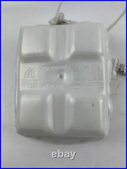 Vintage General Foam Pearl White Nativity Blow Mold 3 Piece Set Original Box