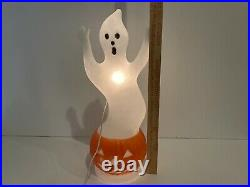 Vintage Halloween Blow Mold Don Featherstone Union Products Ghost Pumpkin 1992