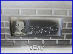 Vintage Halloween Haunted House Don Featherstone BLOW MOLD UNION Products Lights