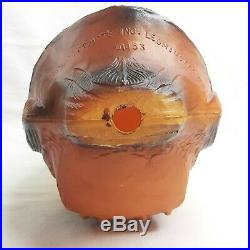 Vintage Halloween Owl Blow Mold Union Products Inc Leominster MA. 01453