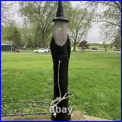 Vintage Union Don Featherstone Pencil Witch Blow Mold. Halloween. 36-37