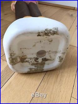 Vintage Union Plastics DON FEATHERSTONE Thanksgiving INDIAN Blow Mold Yard