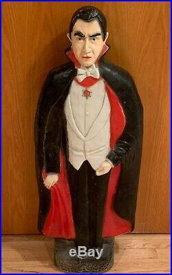 Vintage Union Products Bela Lugosi as Dracula Blow Mold
