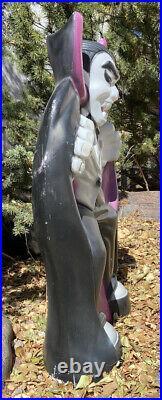 Vtg Count Dracula Blow Mold Halloween Yard Decor Empire 36 Tall Vampire HTF